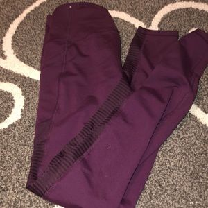 Old Navy Workout Pants SM maroon